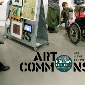 art.Commons @ Queens Museum: Holiday Exchange Sunday December 15 2pm-4pm